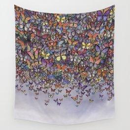 butterfly cascade Wall Tapestry