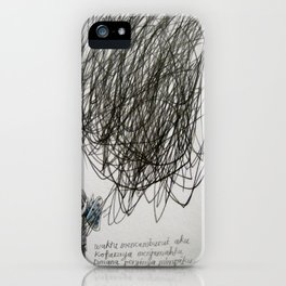 time, city and lost dream iPhone Case