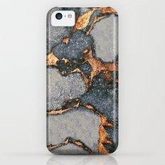 GREY & GOLD GEMSTONE iPhone 5c Slim Case