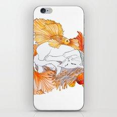 Cat dreams iPhone & iPod Skin