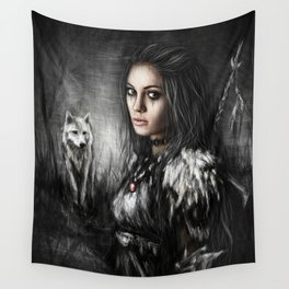Northern Wolf Wall Tapestry