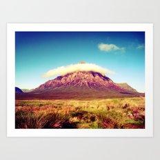 Buachaille Etive Mòr, scotland. Art Print
