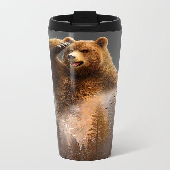 Bear X Metal Travel Mug