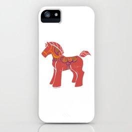 Real Dala Horse #1 iPhone Case