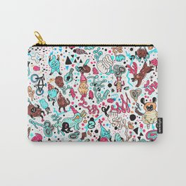 pug in monster land 2 Carry-All Pouch