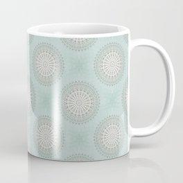 Mint Taupe Mandala Coffee Mug