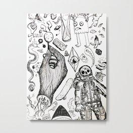 Parallax Universe Metal Print