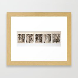 Two Years Before The Mast Forest Framed Art Print