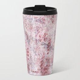 Queen pink abstract watercolor Travel Mug