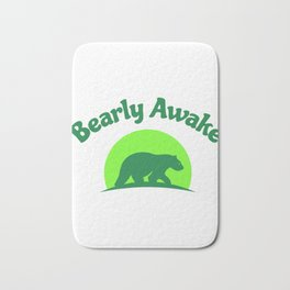 Bearly Awake Bath Mat