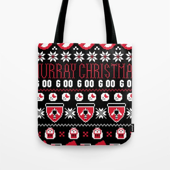Murray Christmas Sweater Tote Bag