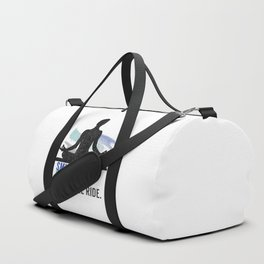 Yoga with a smile Duffle Bag