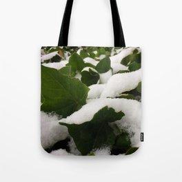 Ivy in Snow Tote Bag