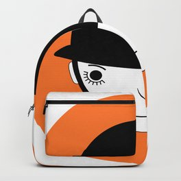 Clocky orange Backpack