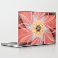 cherry blossom Laptop & iPad Skins featuring Cherry Blossom by Christine baessler