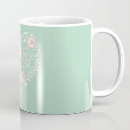 Nebula Pink Heart Coffee Mug