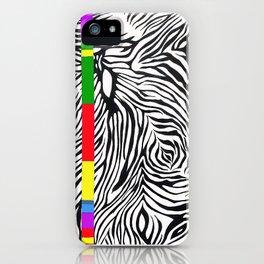 Zebra color iPhone Case