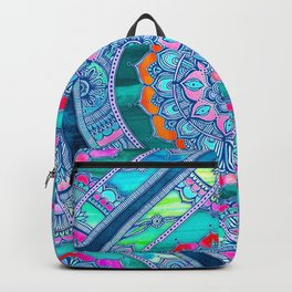 Radiant Boho Color Play Backpack