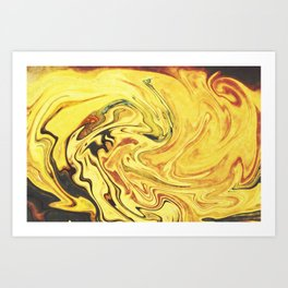 Abstract Painting X.3 Art Print