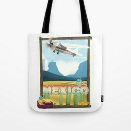 Mexico Desert vintage style travel Tote Bag