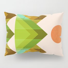 Abstraction_SUN_LANDSCAPE_POP_ART_MInimalism_004X Pillow Sham