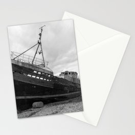 Corpach Wreck mono Stationery Cards