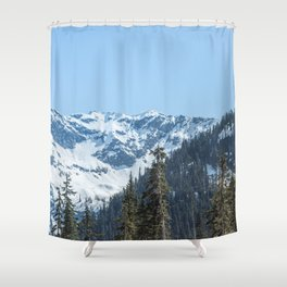 Fresh Mountain Air - PNW Edition Shower Curtain