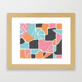 Bela Silueto Framed Art Print