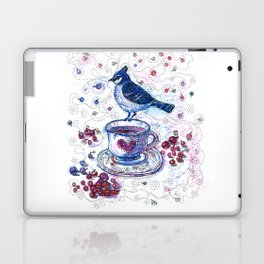 Winter Tea (Ble Jay) Laptop & iPad Skin