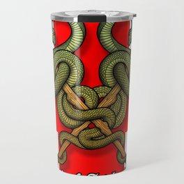 Rod of Asclepius4 Travel Mug