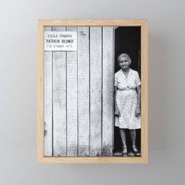 Escola Amazon Framed Mini Art Print
