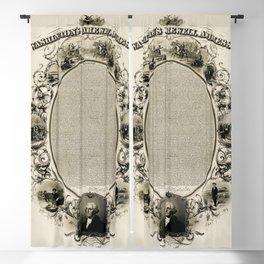 Washington's Farewell Address (1856) Blackout Curtain