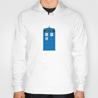 doctor who Hoodies featuring DOCTOR WHO. by John Medbury (LAZY J Studios)