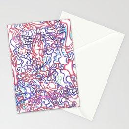 Capillary Reaction  Stationery Cards