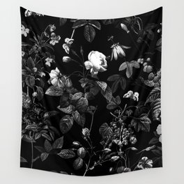 DARK FLOWER Wall Tapestry
