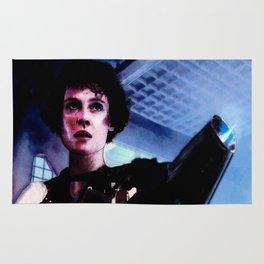 "Sigourney Weaver. In the movie ""Aliens"" Rug"