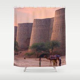 Gracious World Popular Derawar Fort Bahawalpur District Punjab Pakistan Asia Ultra HD Shower Curtain