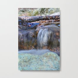 Flowing Creek Metal Print