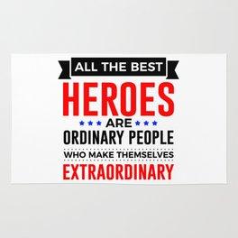 Super Heroes Superheroes Extraordinary Powers Rug