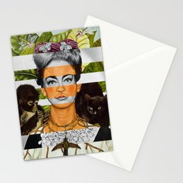 """""""Self Portrait with Thorn Necklace"""" & Joan Crawford Stationery Cards"""