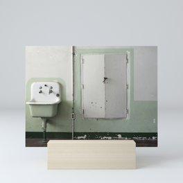 Cafeteria sink Mini Art Print