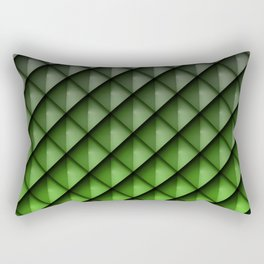 Draco Green Rectangular Pillow