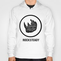 tmnt Hoodies featuring Rocksteady | TMNT by Silvio Ledbetter