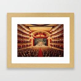 The Old Bolshoi Theater Framed Art Print
