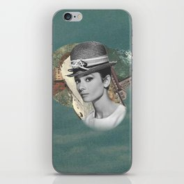 Audrey Meets The Wild iPhone Skin