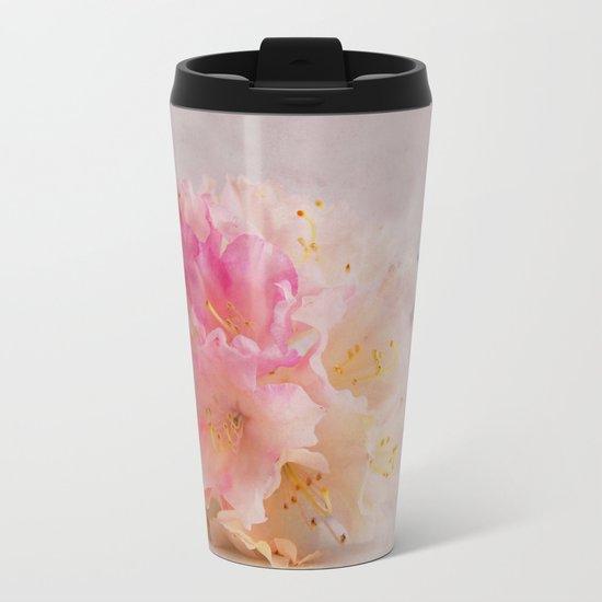 Rhododendron Metal Travel Mug