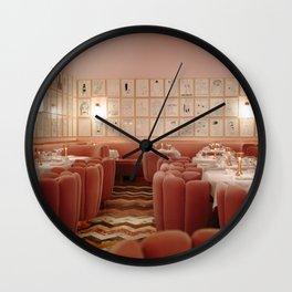 Tea Time in London Wall Clock