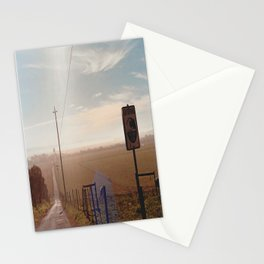 Tsunami Warning Zone-Film Camera Stationery Cards