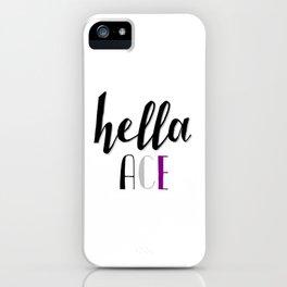 Ace Pride - Hella Ace iPhone Case