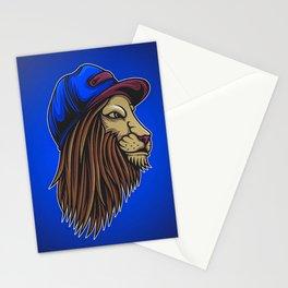 Lion Wild Big Cat Roar Stationery Cards